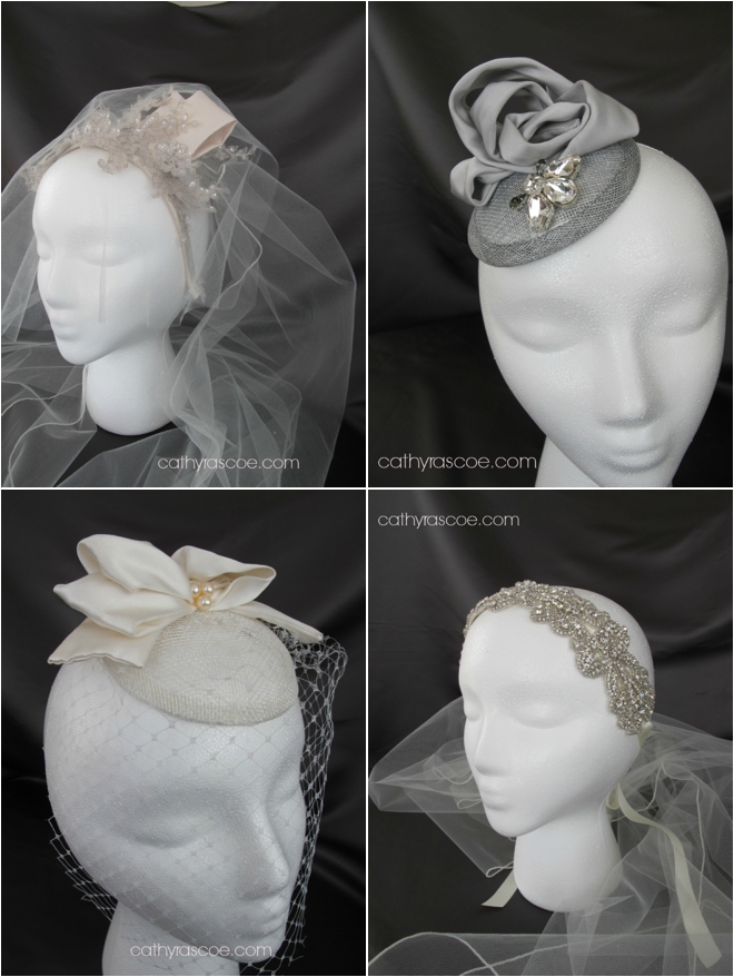 Cathy Rascoe Custom Bridal Headpiece Giveaway Ends 9pm Friday!