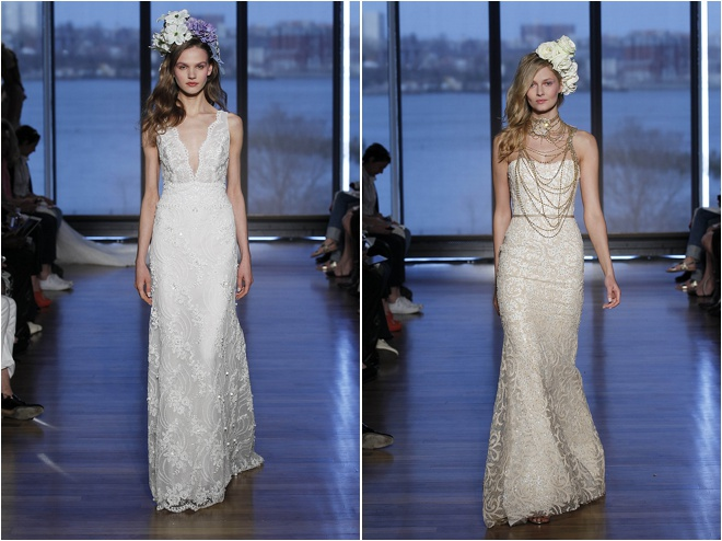 Ines Di Santo S/S 2015 Couture Bridal Collection: Gardens of Glamour