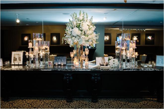 Modern Black & White Wedding at Hotel ZaZa by Adam Nyholt
