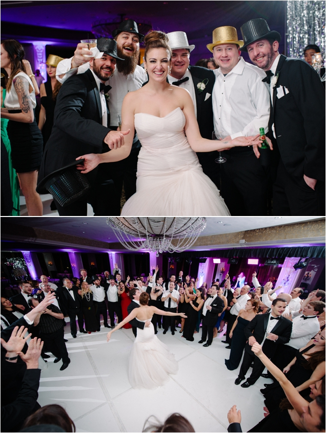 Modern Black & White Wedding at Hotel ZaZa by Adam Nyholt