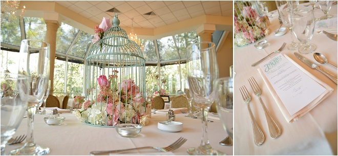 Birdcage centerpiece « houston wedding