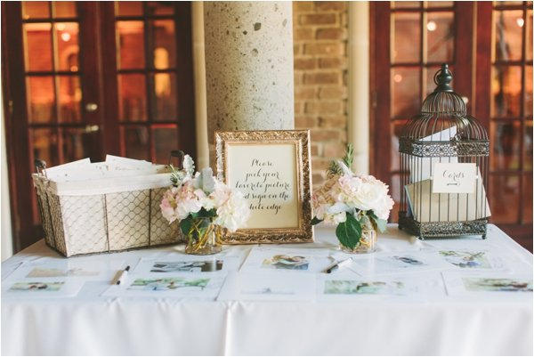 Vintage Blush & Gold Wedding at Ousie's Table