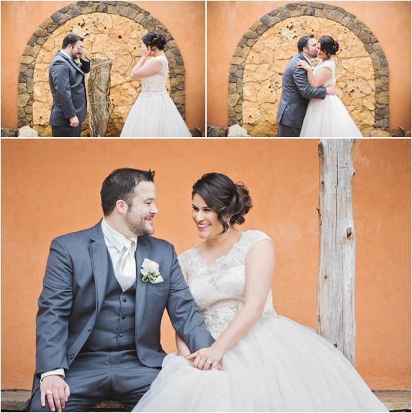 Coral, Ivory & Gray Wedding at Agave Real by Ama Photography & Cinema