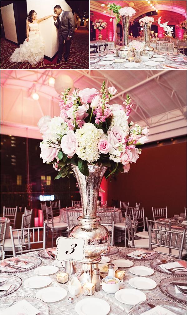 Blush, White & Silver Wedding at Sam Houston Hotel by1 Cinema Productions
