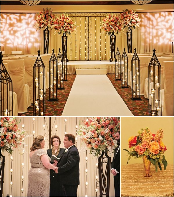 { Elegant Black, Gold & Pink Wedding at the Houstonian Hotel, Club & Spa by D. Jones Photography }