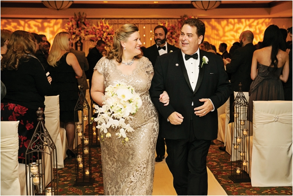 Elegant Black, Gold & Pink Wedding at the Houstonian Hotel, Club & Spa by D. Jones Photography