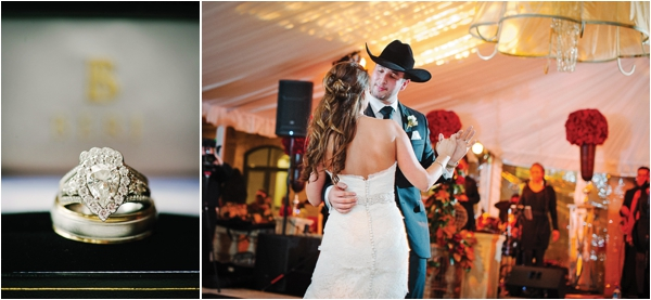 Red & White Western Wedding by Adam Nyholt Photography