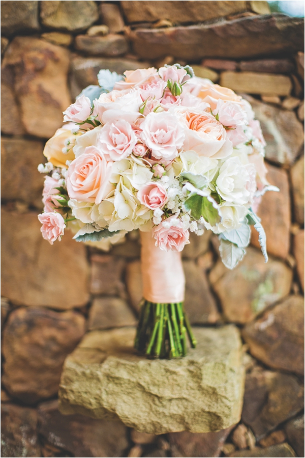Coral, Ivory & Gray wedding at Agave Real