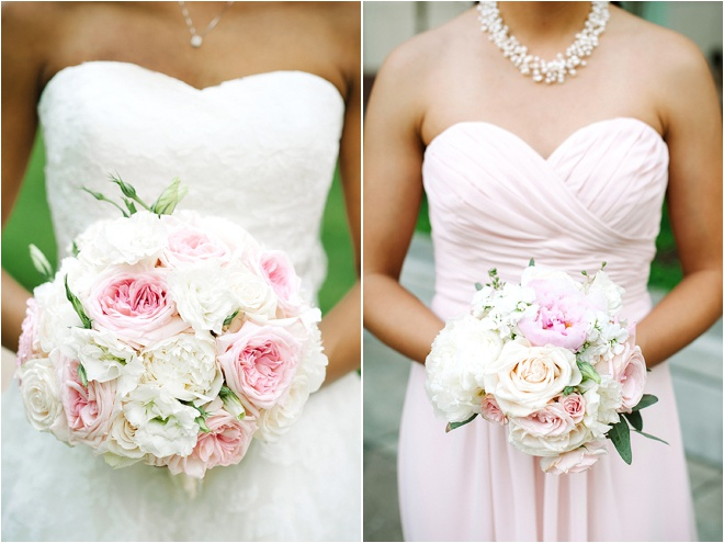 Blush, Pink, Gold, and Ivory 1920's Inspired Wedding