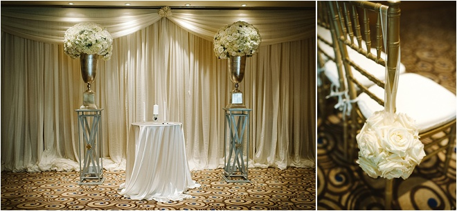 Blush Gold And Ivory 1920s Inspired Wedding With Bonus Fake