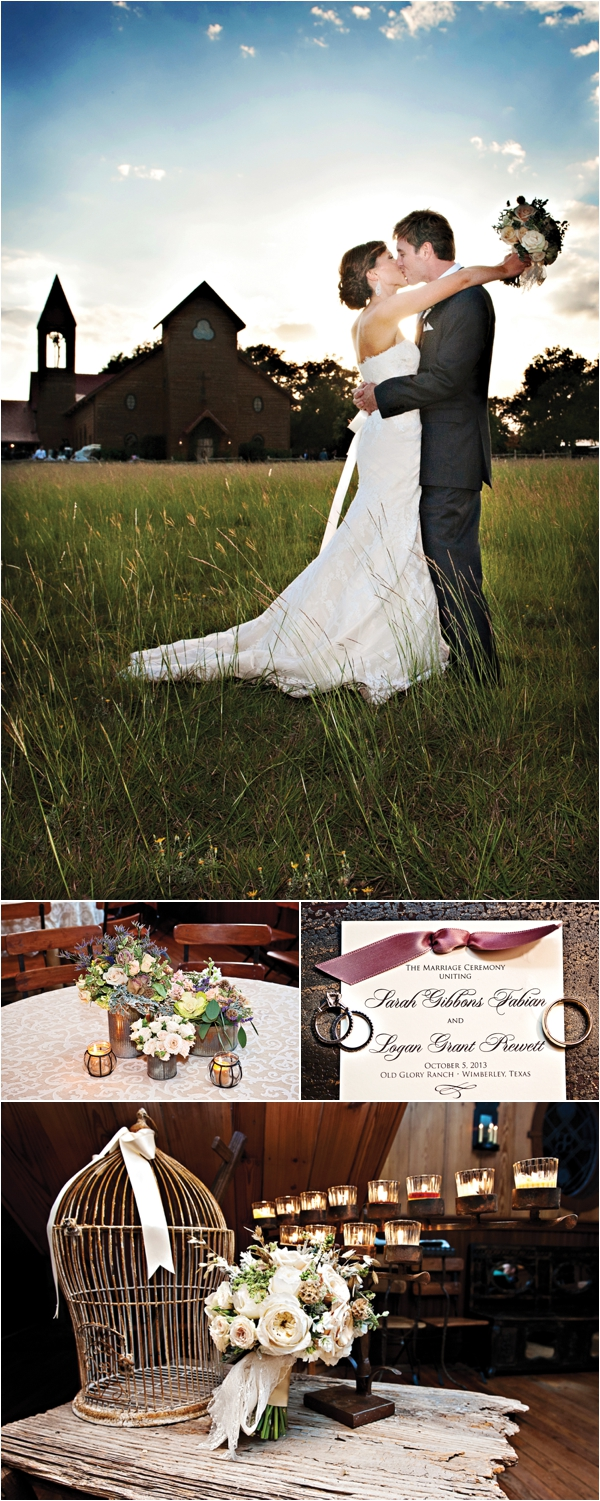 Rustic Shabby Chic Wedding at Old Glory Ranch « Houston Wedding Blog