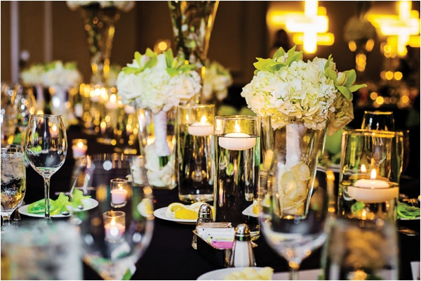 Green & Black Wedding at Hotel Derek by Motley Melange