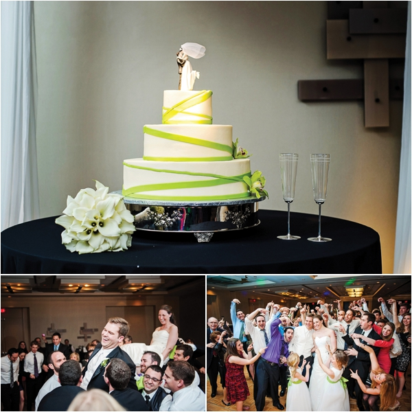 Green & Black Wedding at Hotel Derek by Motley Melange