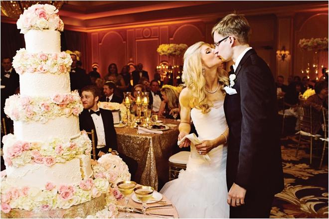 Pink, Cream & Gold Wedding at the Houstonian by J. Cogliandro Photography