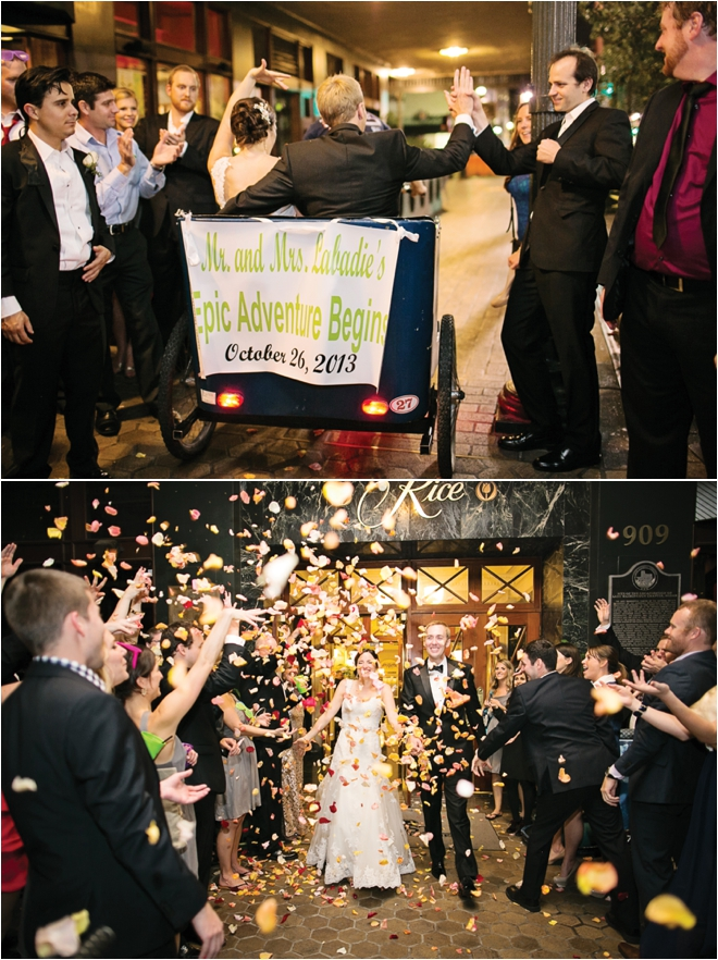 Champagne and Lime Green Wedding at the Crystal Ballroom by Sarah Ainsworth Photography