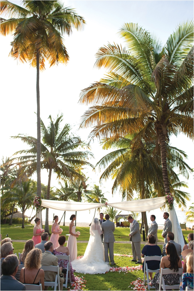 Blush and Pink Destination Wedding by DC Stanley Photography