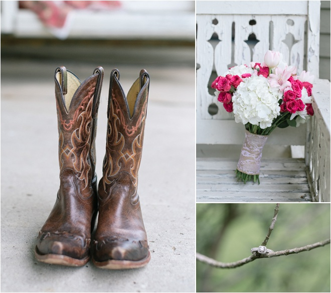 Relaxed, Romantic Country Style Wedding