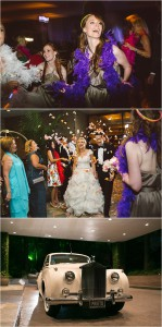 Peach, Pink and Gold Wedding at The Houstonian by J. Cogliandro Photography