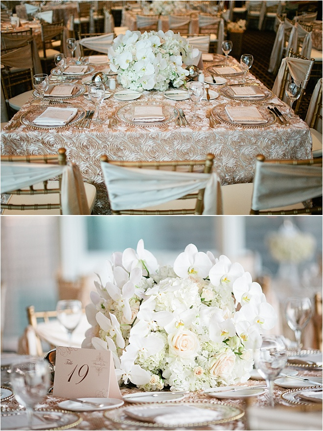 Blush, Ivory & Gold Wedding at The Petroleum Club of Houston