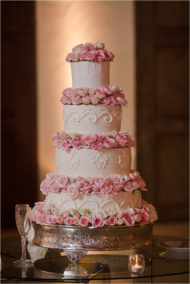 blush pink and gold wedding cake blush ivory and gold wedding at the bell tower on 34th 12040