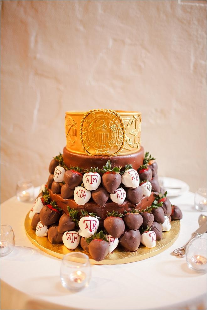 Chocolate Covered Strawberry Groom Cake Archives - Houston Wedding ...