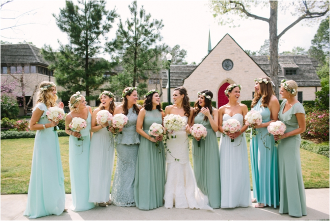 Mint Green, Cream & Gold Wedding by Akil Bennett Photography