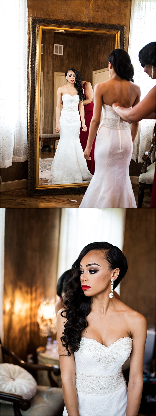 Romantic White and Red Wedding at Chateau Polonez by Civic Photos
