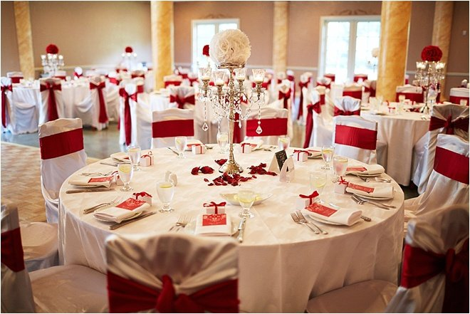 White And Red Wedding At Cau Polonez By Civic Photos