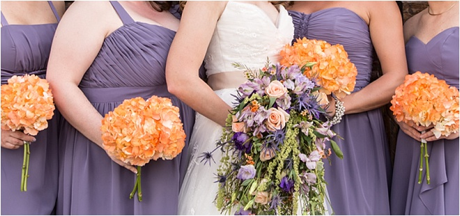 Lavender & Coral Wedding at Agave Estates by FireHeart Photography