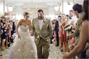 Ivory, Gold and Brown Wedding at Crystal Ballroom at The Rice
