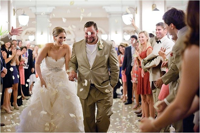 Ivory, Gold & Brown Wedding at Crystal Ballroom at The Rice