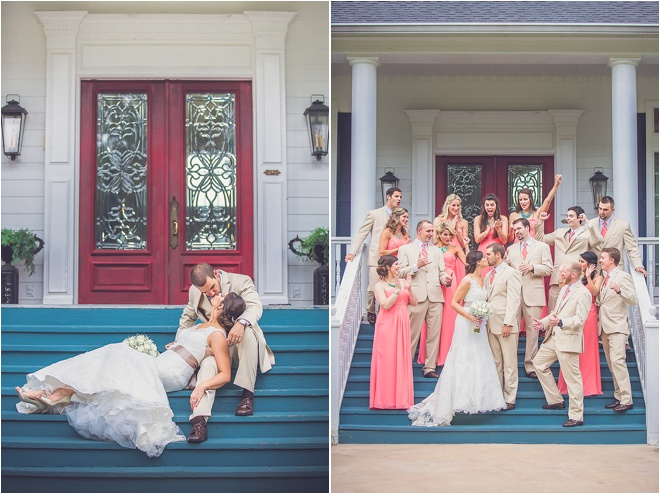 Mint, Coral & Khaki Rustic Wedding by Ama Photography & Cinema