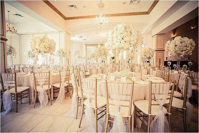 Romantic White, Blush & Gold Wedding at Chateau Cocomar