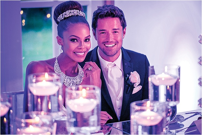 Romantic White, Blush & Gold Wedding at Chateau Cocomar