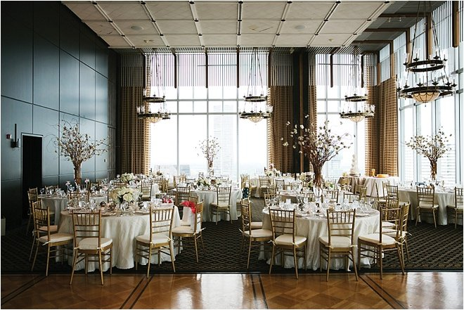 Ivory, Gray & Gold Wedding at The Petroleum Club of Houston by D. Jones Photography