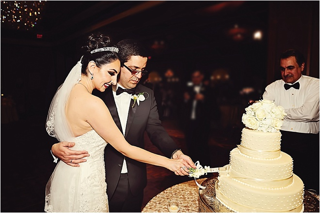 White, Ivory & Gold Persian Wedding by Kreative Angle Photography
