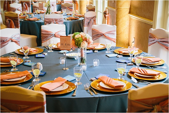 b483122f9f0e ... Coral   Blue Wedding at Chateau Polonez by Akil Bennett Photography ...