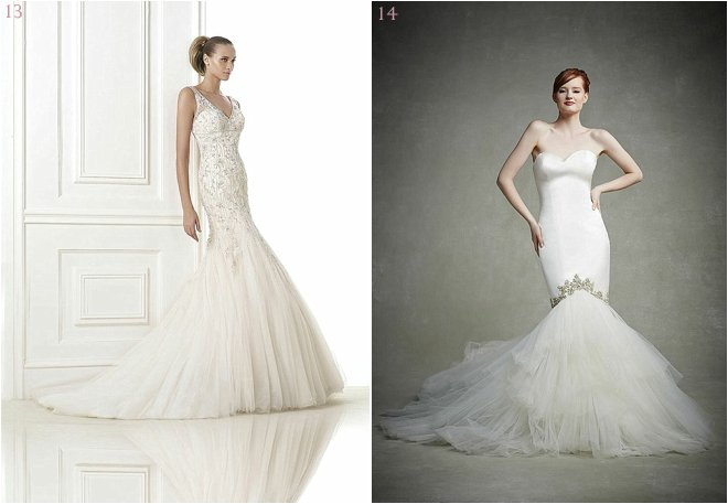 Beaded Bodice with Lace Flowing Skirt and Pure White Sweetheart Neckline Bridal Gown with Flowing Skirt