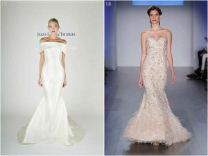 2015 Wedding Gown Trend: Drop Waists & Sheath Gowns