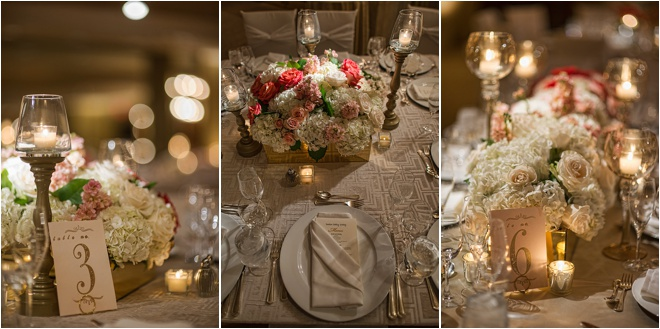 Blush, Orange, Silver & Gold Wedding at Four Seasons Hotel Houston by D.C. Stanley Photography