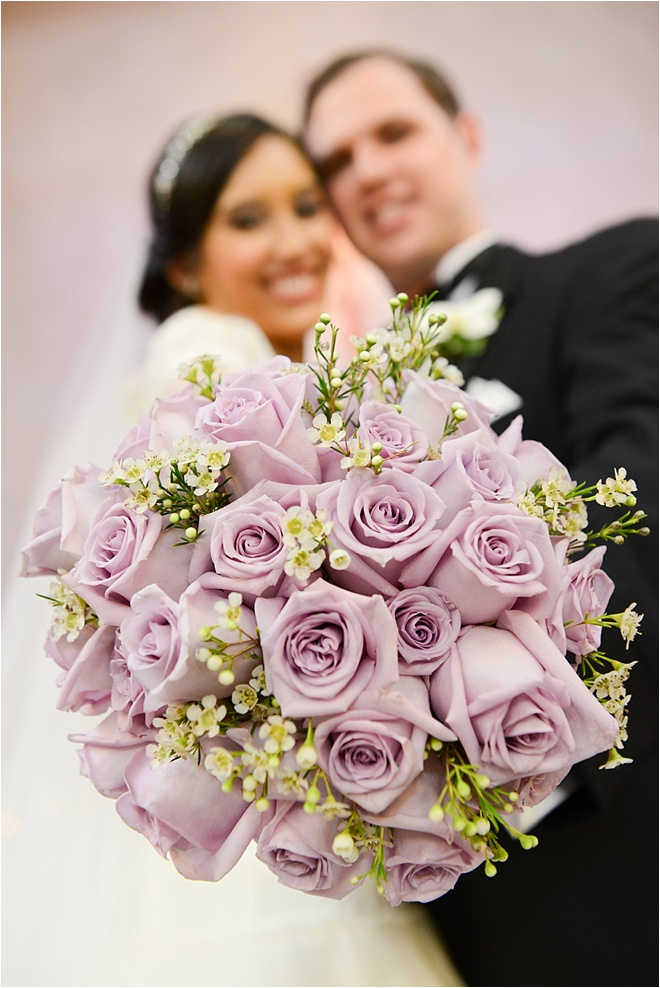 Ivory, Lavender & Sage Wedding at The Bell Tower on 34th Street