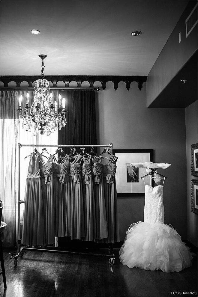 Maroon, Gray & White Wedding at The Corinthian by J. Cogliandro Photography