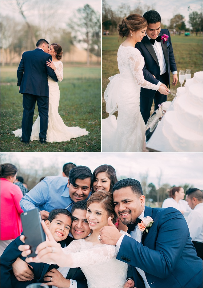 Outdoor Spring Wedding by Civic Photos