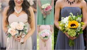 Budget-Friendly, Beautiful Bridesmaids Bouquets