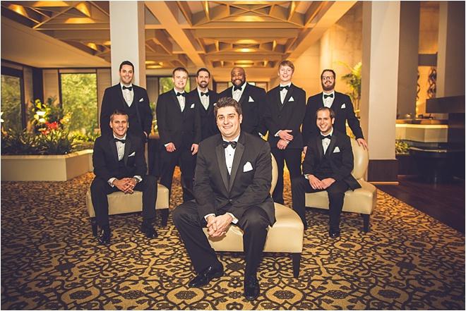 Blush, Ivory & Silver Wedding at Omni Houston Hotel
