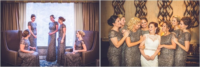 Blush, Ivory & Silver Wedding at Omni Houston Hotel
