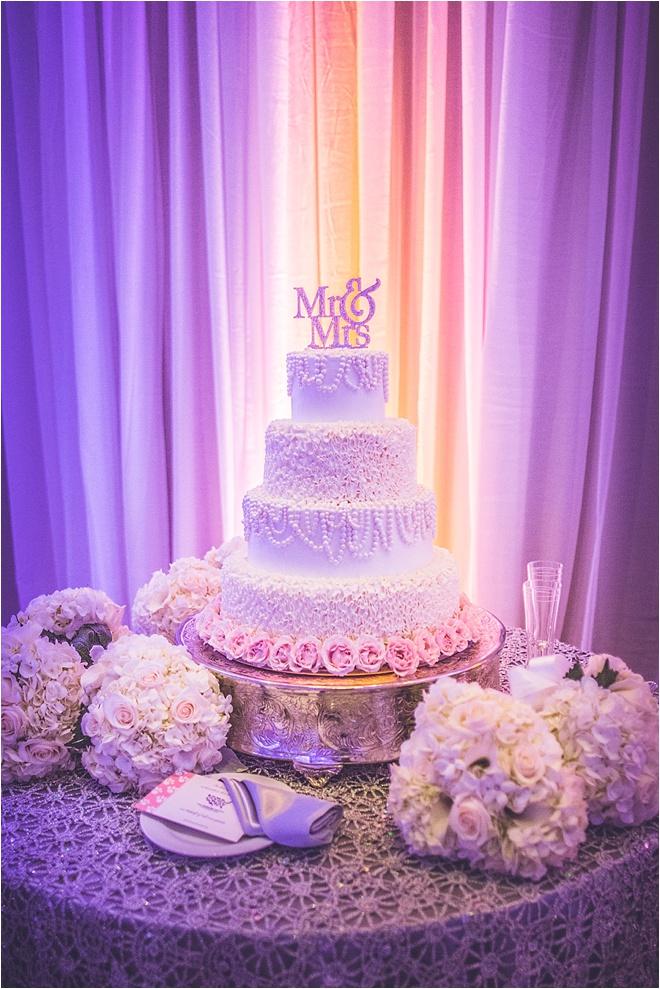 Ivory Silver Wedding At Omni Houston Hotel