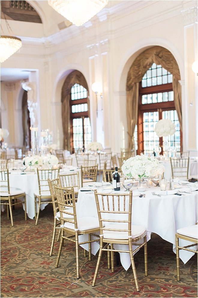 Black, White & Blue Wedding at Crystal Ballroom at The Rice by Ever & Anon Photography