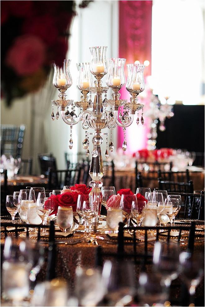 Pink, Gold & Black Wedding at Hotel ZaZa by D. Jones Photography