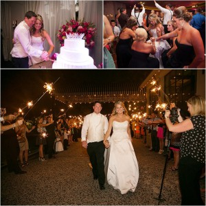 Pink, Black & Gold Wedding at Hotel ZaZa by D. Jones Photography
